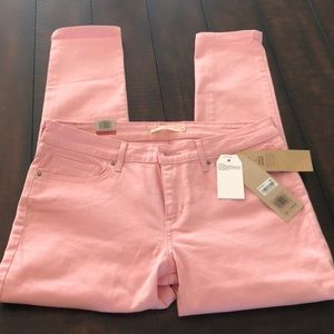 Levi's Jeans - Levi's 711 NWT light pink Ankle Skinny Jeans